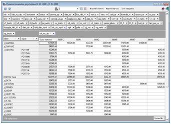 Analizy rentowności (przychody – koszty)